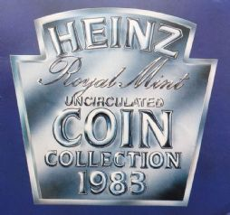 1983 Brilliant Uncirculated Coin Collection HEINZ Version for sale